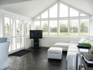 eample of Shutters Sandbanks in a modern conversion