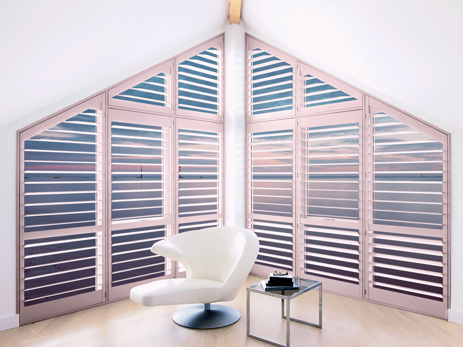 Coral shutters