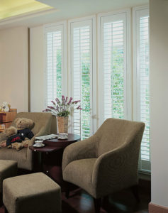 Just Shutters Holywell example in living room
